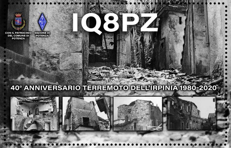 Special call Irpinia 1980-2020